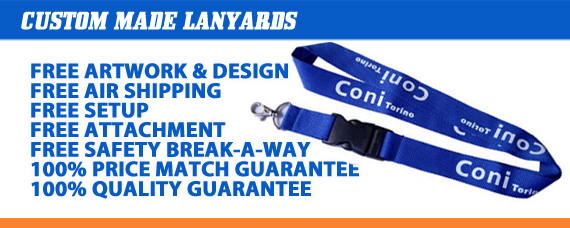 Custom Lanyard Styles - Industry Low Pricing!