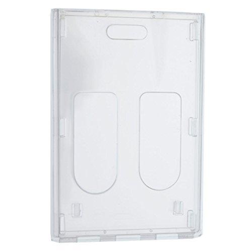 Custom Lanyard Attachments - LPL16B - Vertical Badge Holder